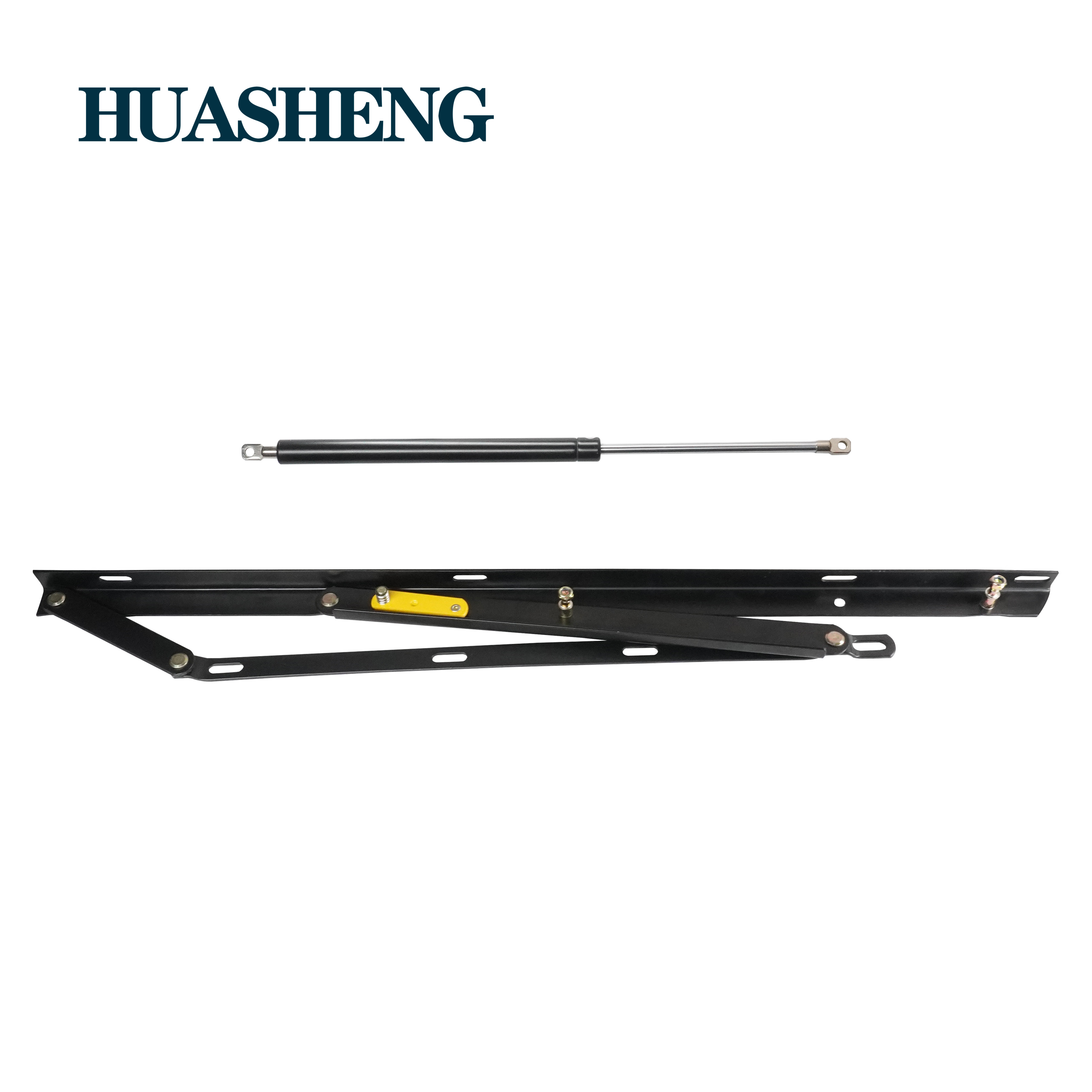 Heavy duty bed lifting system bed fitting Lift up gas spring strut hinges mechanism for furniture