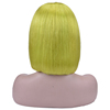 Yellow Green 13x4 Lace Front Wig
