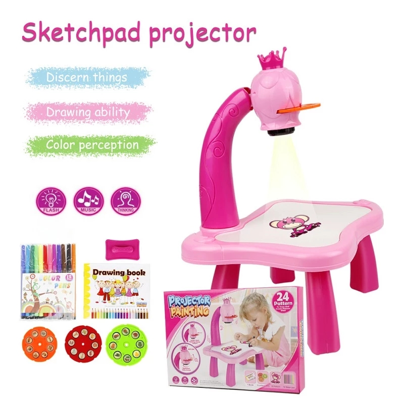 2021 new arrivals toy painting machine amazons online projector painting toys for child