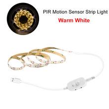 Ручной развертки светильник s для кухни светодиодный светильник для шкафа сенсорный датчик 1 м 2 м 3 м датчик движения светодиодная лента для ...(Китай)