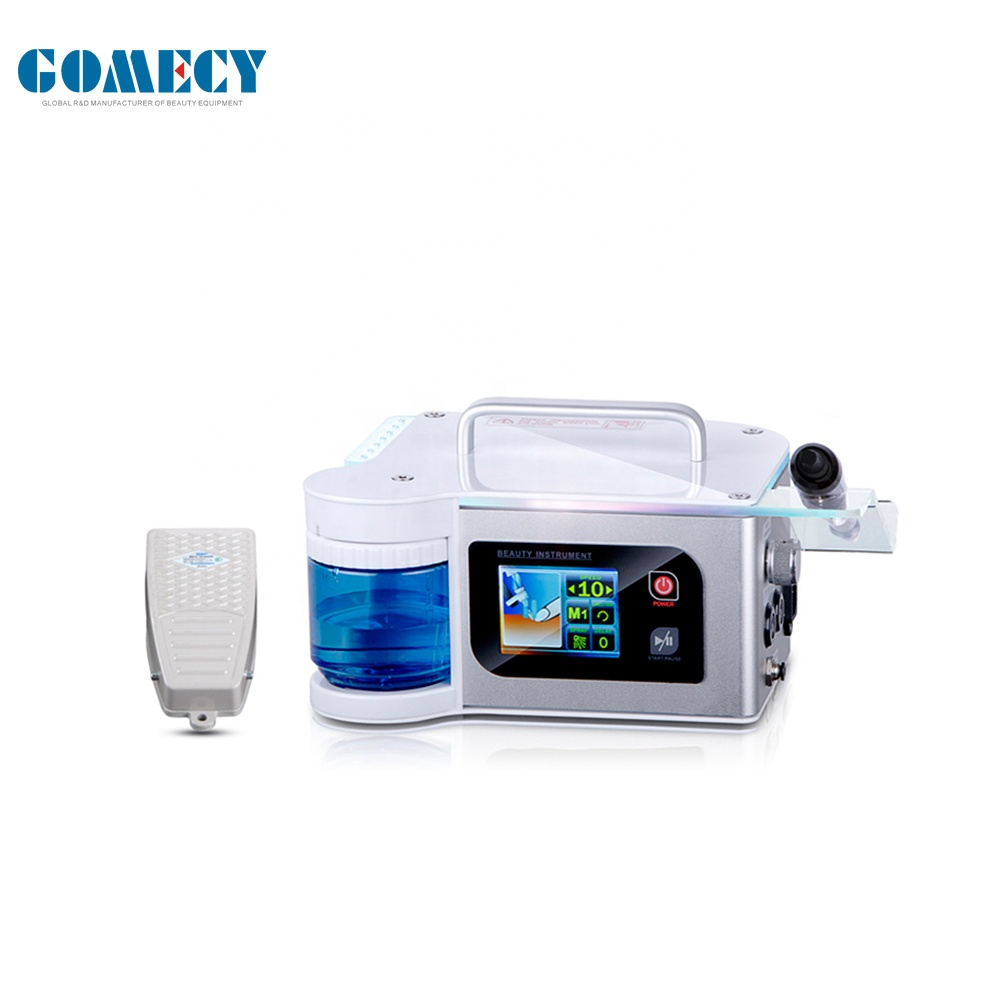 Luxury Alum Alloy Case with Touchable Controlling System Electric Nail Drilling Machine