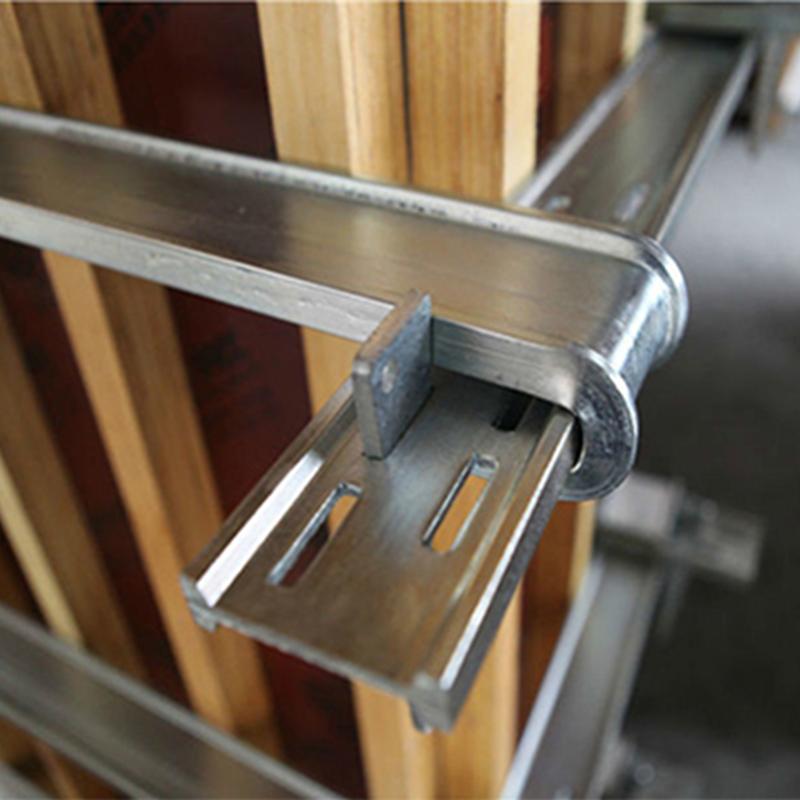 Регулируемый зажим для опалубки, квадратный зажим для бетонной опалубки, оцинкованный зажим