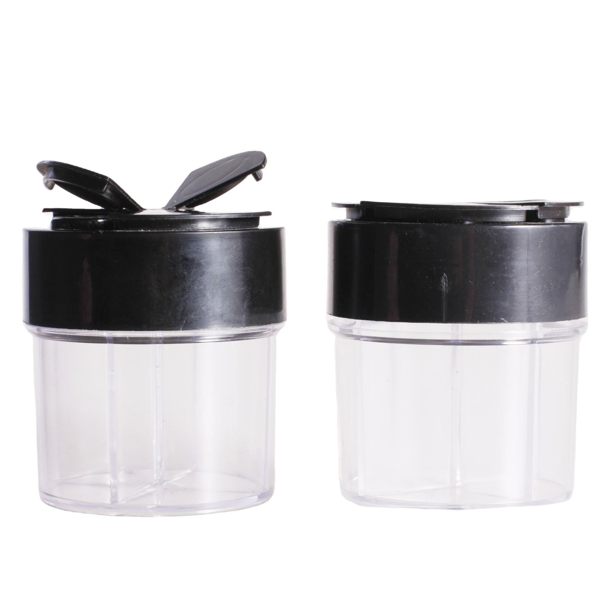Стеклянная банка для специй объемом 100 мл, банки, шейкер для соли, диспенсер для перца, бесплатные образцы, шейкер для перца, пластиковые/стеклянные банки для специй