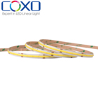 cob strip light 336led IP20 waterproof 12v 24v flexible cob led strip