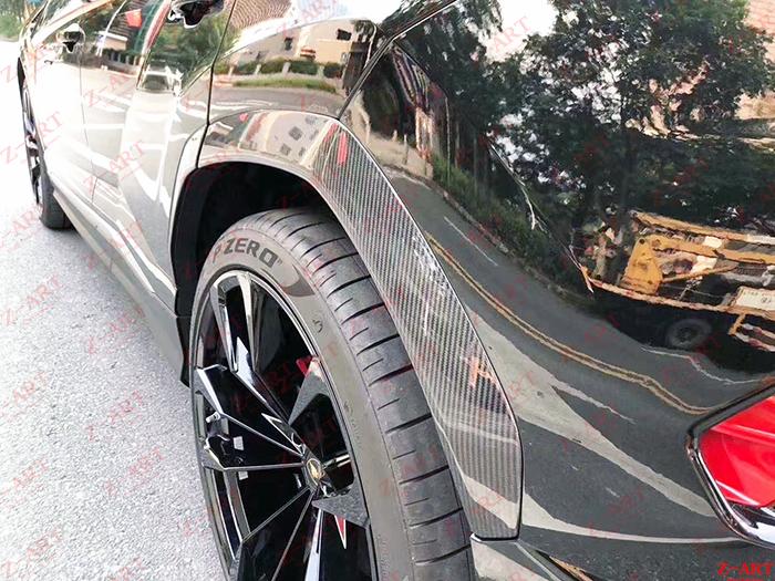 Z-ART full carbon fiber wheel arch cover for Urus carbon fiber extend wheel arch for  Urus carbon fiber wheel arch