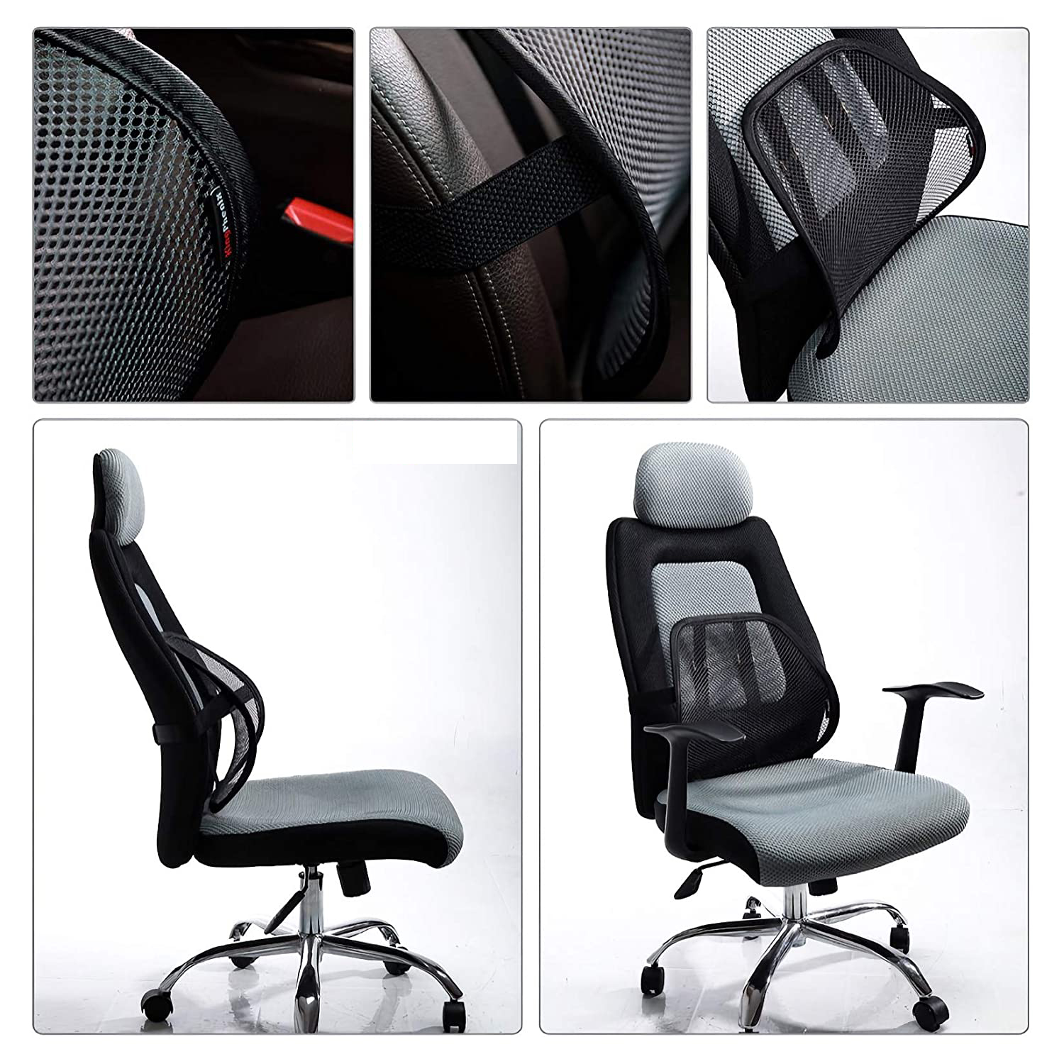 Help you correct your sitting posture chair waist support chair waist support seat lumbar support