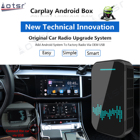 Built-in Gps Navigation System Carplay AI Box Android System Car Multimedia Player Video 4 32GB Wireless Mirror Link Auto Radio Upgrade Wifi BT