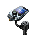 Mp3 Multi-function Fm Transmitter Car Radio Usb Mp3 Players Fm Modulator With Lcd Display