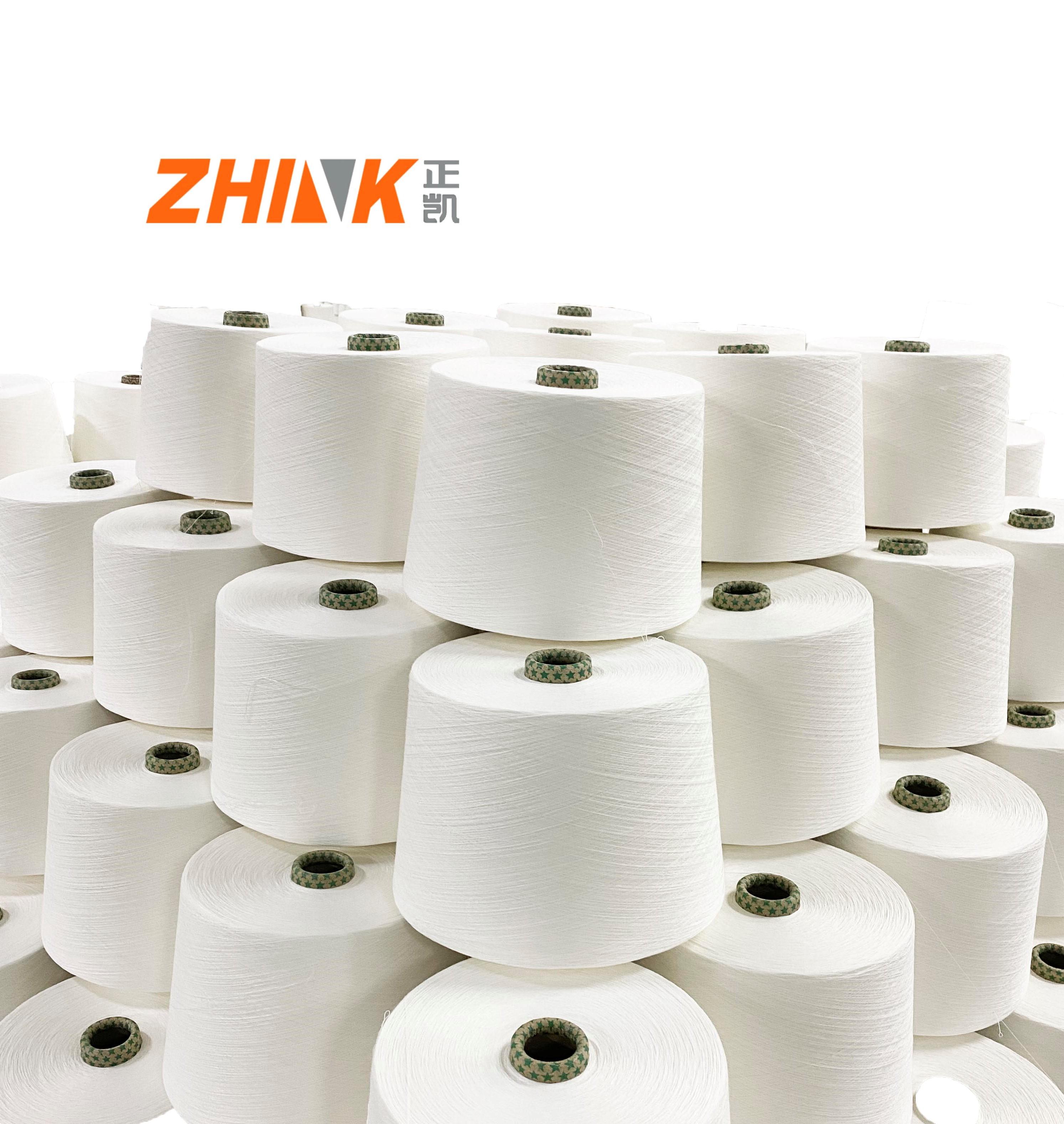 100% bamboo Ne 30/1 high quality siro spun yarn for weaving yarn