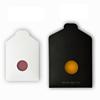Envelope packaging-black , white