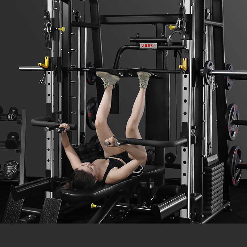 New Arrival Gym Equipment Multi-functional Smith Machine Home Gym Power Rack