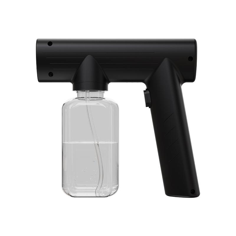 Atomizer Spray Gun Handheld Rechargeable Blue Light Wireless Sanitizer UV Steam Nano Spray Gun