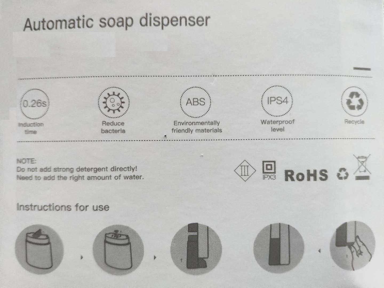 Оригинальный изготовленный на заказ Бесконтактный спиртовой спрей, автоматический диспенсер дезинфицирующего средства для рук, умный датчик, диспенсер для пены и мыла