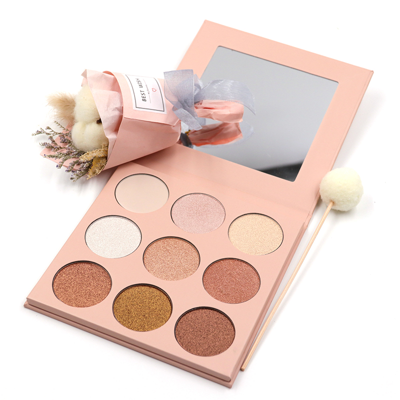 Beautydom High Quality Cosmetics Private Label Vegan Makeup Eyeshadow Palette