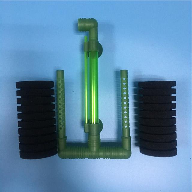 xinyou pk004 submersible extern aquarium bio sponge foam power filter strainer