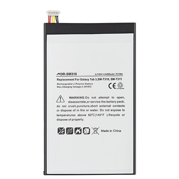 Replacement Hot Sales Tablet Battery For Samsung T310 4450mAh Battery