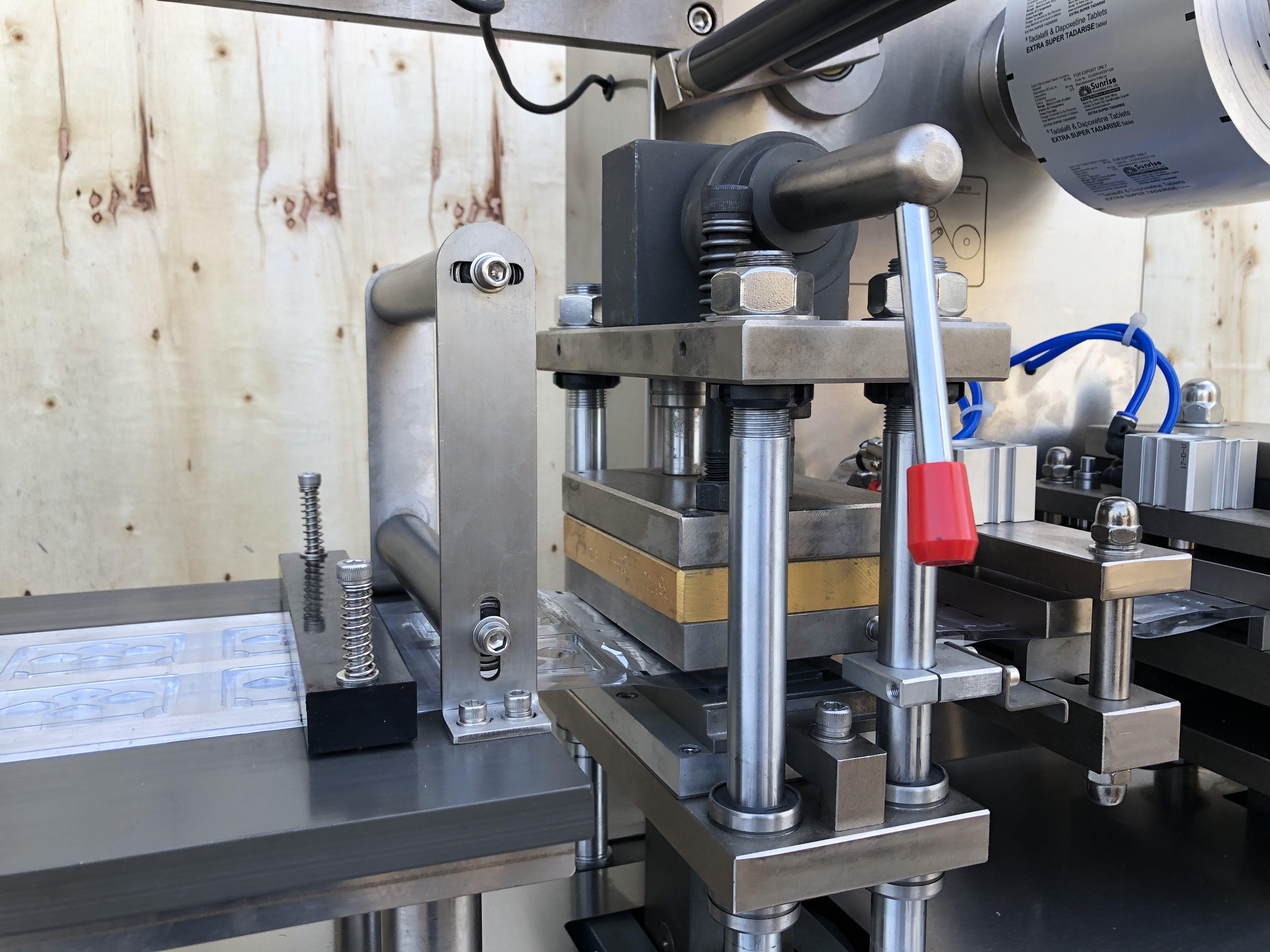 DPP-88 automatic blister packing machine