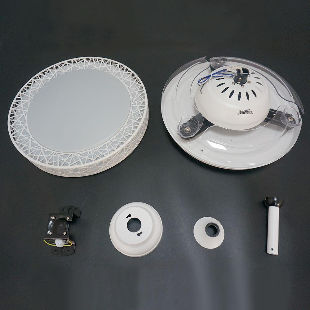 1stshine 42 дюймов выдвижной пульт дистанционного управления стола потолочного вентилятора с подсветкой современный