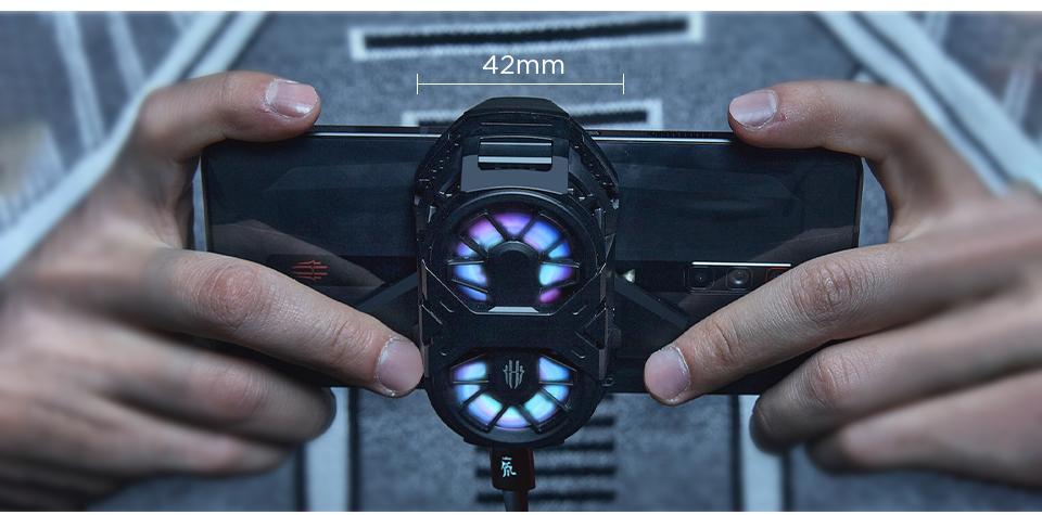 100% Original Nubia RedMagic 6 Gaming Phone Dual Core Fan Cooler for Red Magic 6 Pro ICE Dock