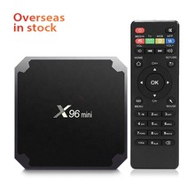 Высокая производительность OEM TV BOX Amlogic S905W X96 мини телеприставка 4k HD Android TV Box X96mini