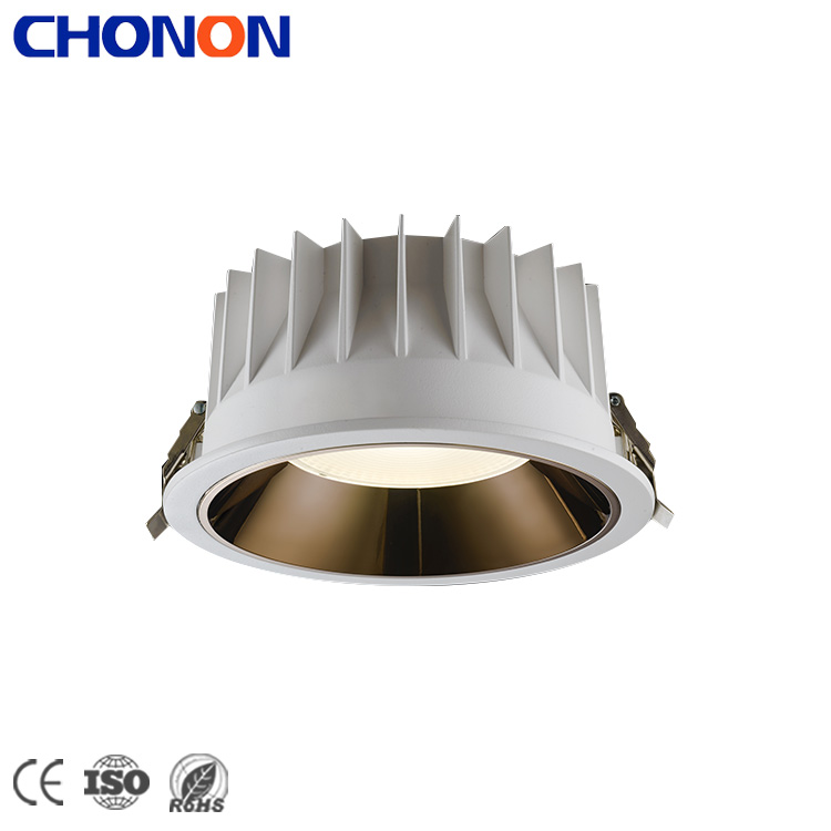 Save Cost 10W 3 Inch Offices Light Aluminum LED Recessed Downlight Fixture