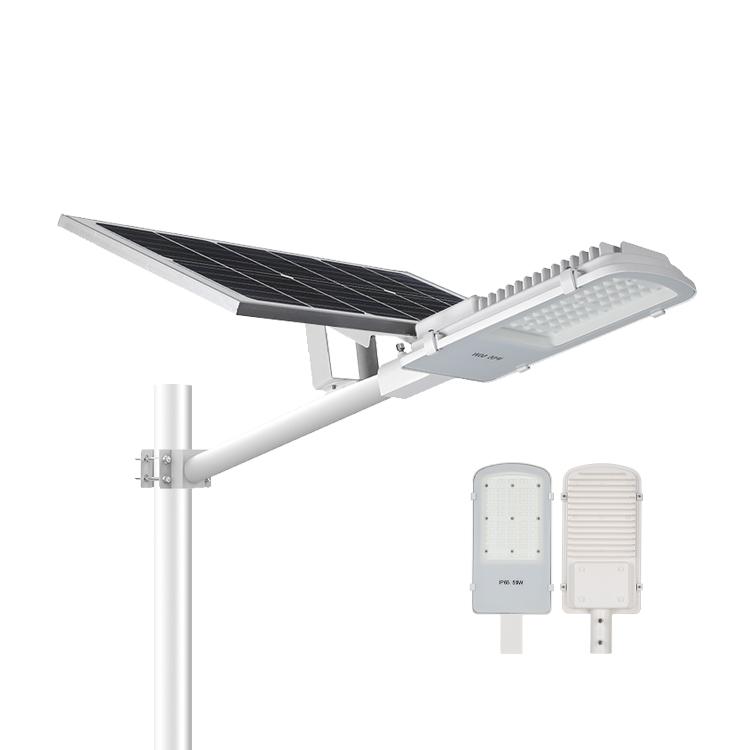 LAP Ip65 Waterproof Aluminum 20w 30w 50w Led Solar Street Light Price List