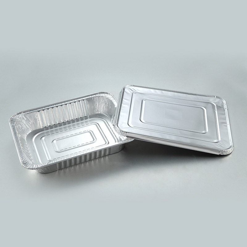 9x13 Inch Half Size Steam Table Pan Disposable Aluminum Foil Baking Trays