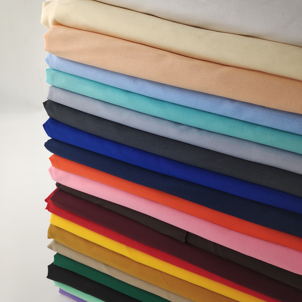 polyester cotton 96*72 93gsm pocketing fabric for jeans