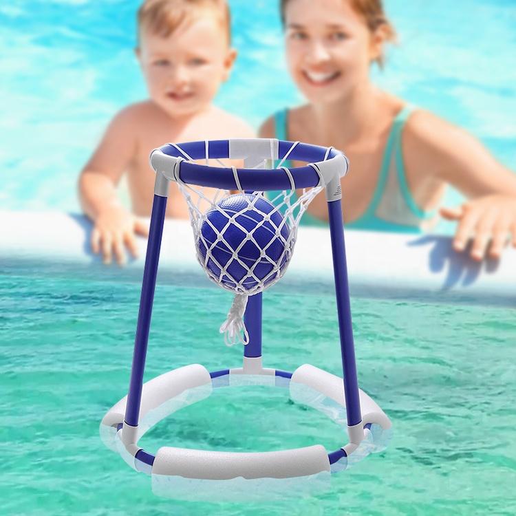 Hot Hoop 360 & Splash Pass Floating Pool Games Water basketball hoop summer toys