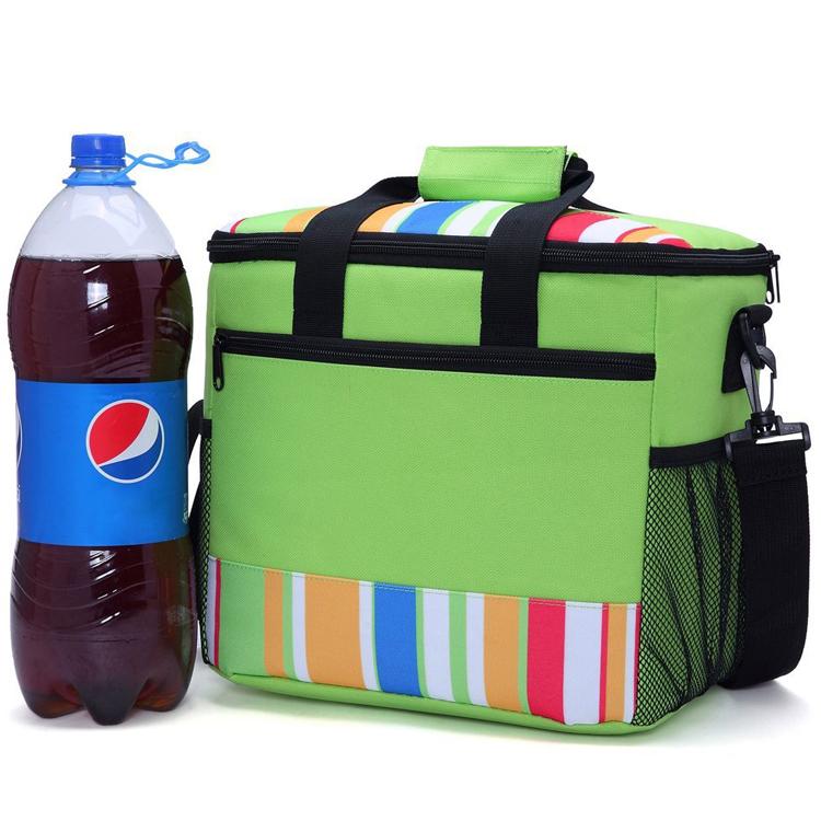Рекламный наружный охлаждающий Ланч-бокс, изолированный Ланч-бокс, большая доставка охладителя для льда, коробка для замороженных продуктов с молнией