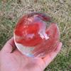 Красный плавки камень