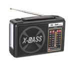 Radio Custom Vintage Retro Rechargeable Stereo Outdoor Mini Usb Home Portable Am Fm Sw Radio With LED Light