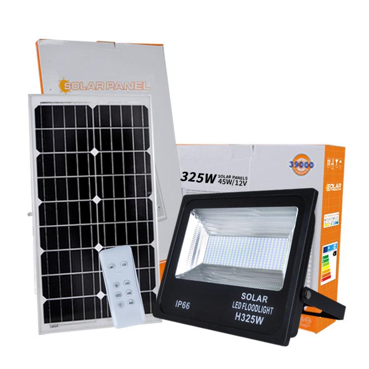 remote control outdoor waterproof flood light solar