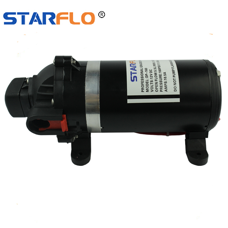 Self Priming Water Pump High Reliability Diaphragm Water Pump for Chemical Equipment Industrial Equipment