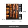 4 door + side cabinet