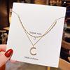 076 Gold necklaces