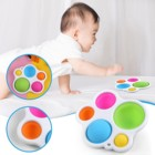 Education Baby Puzzle Early Education Toy Intelligence Development Board Adult Decompression Tpush Pop Anxiety Fidget Toys Bubble