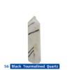 56 Black Tourmalined Quartz