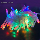 Weekly deal cheap fancy led diwali light string for india festival decoration