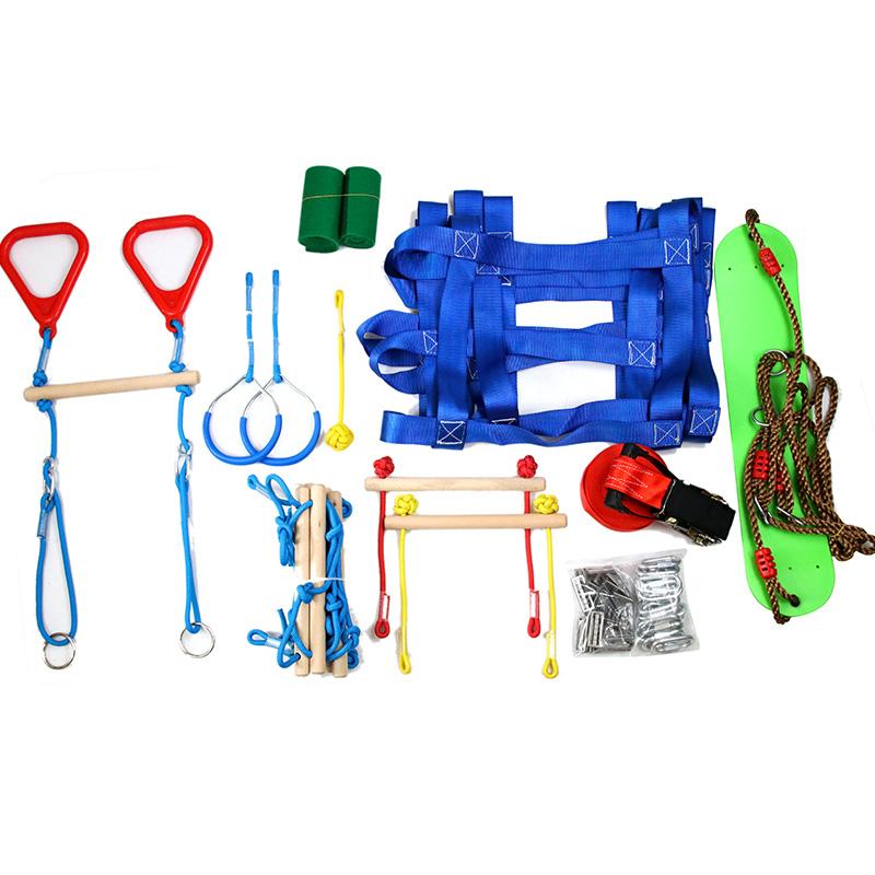 Оборудование для тренировок, набор препятствий, качели, обезьяны, полосы для детей