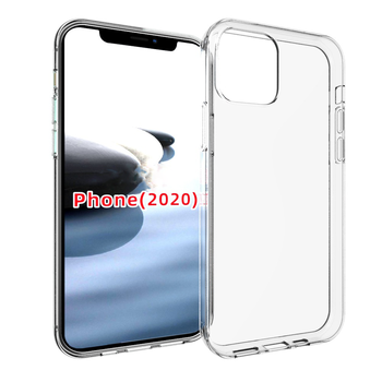 Clear Acrylic TPU Phone Case for iPhone 12 12 Pro 12 Pro Max Rubber Soft TPU Covers for iPhone 12 Clear Transparent Case