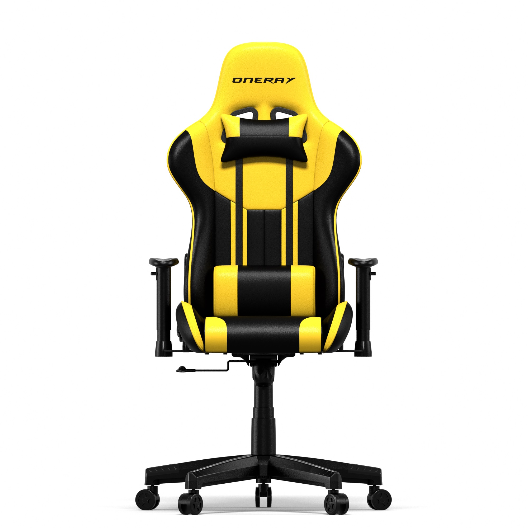 ONERAY ROHS/REACH Certificated PU+PVC Leather Cover wholesaler manufacture Gaming Chair