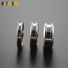 Titanium Ring Titaniumtitanium Blank Ring 8mm Titanium Ring Blank For Inlay 4mm Channel Width Custom Dimension Comfort Fit