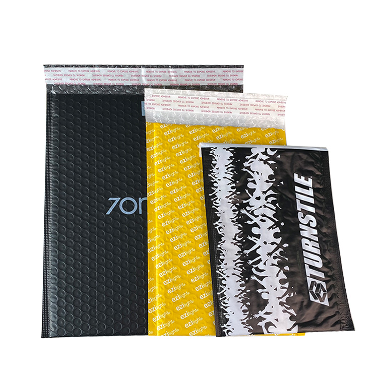 Air Poly Pouch Packaging Shipping Custom Logo Envelope Mailings Wrap Bags Bubble Mailer