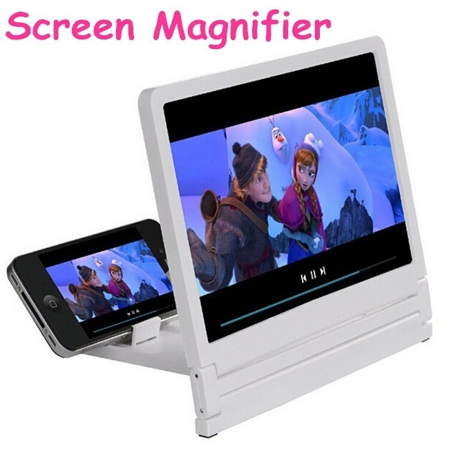 2019 New Universal 3D Mobile Phone Enlarged Screen Magnifier with Bracket Folding