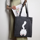 Bags Small Reusable Cloth Handbag Casual Blank Canvas Tote Bags