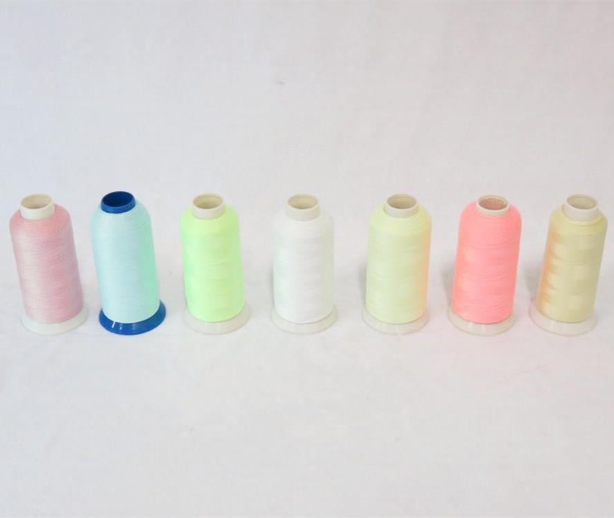 luminous yarn glow in the dark yarn embroidery thread glow in the dark
