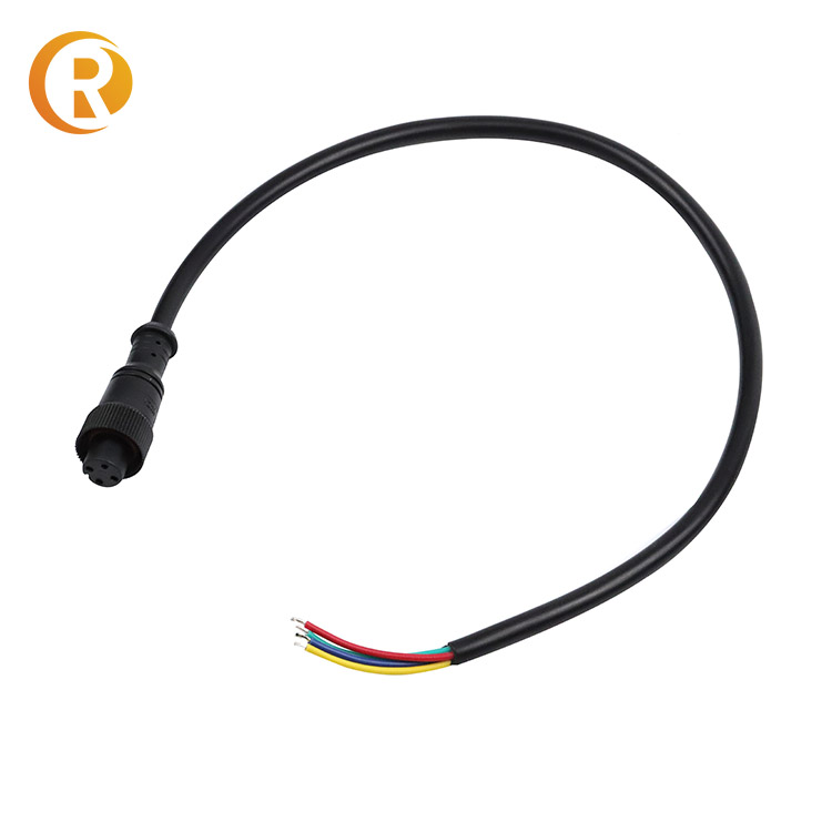 2Pin 3Pin 4Pin LED Connector Cable Waterproof IP67 Male Female Jack Waterproof Extension Cables