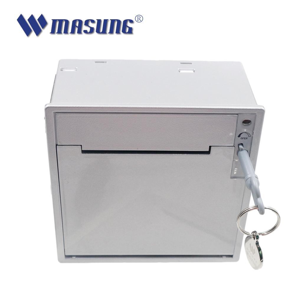 58mm queue management system ticket dispenser kiosk
