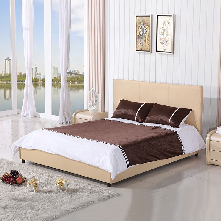 beige space saving home furniture cheap bed frame furniture lift up storage king simple single space bed